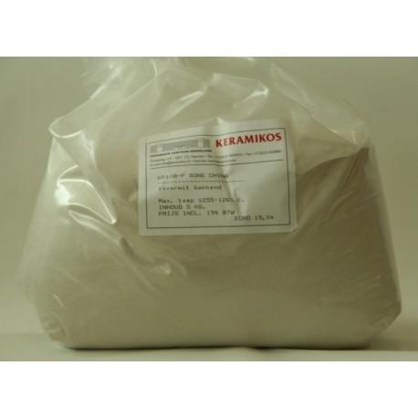 KLEIPOEDER BONE CHINA IVOORWIT 25 KG