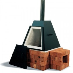 PYRAMIDE 135L HOUTOVEN