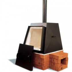 PYRAMIDE 240L HOUTOVEN
