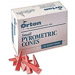 ORTON MINI CONES 1020 C PER 50