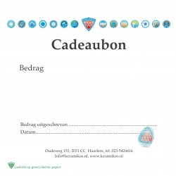 CADEAUBON KERAMIKOS 30 EURO