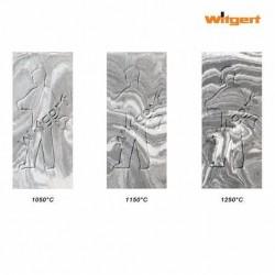 WITGERT Vintage grau/weiss marbled
