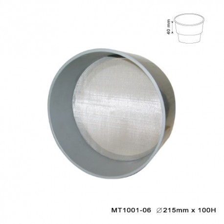 GLAZUURZEEF 215 MM 100 MESH