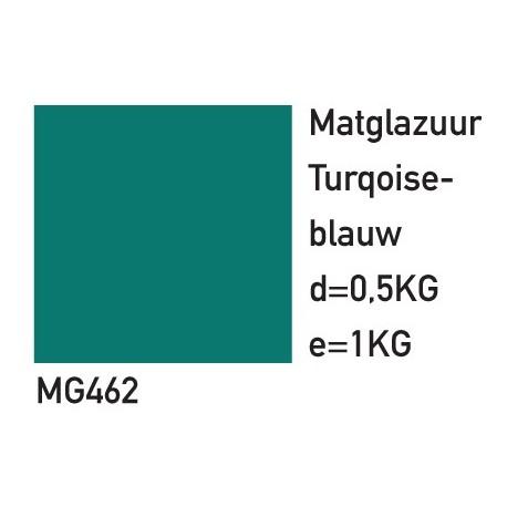 MATGLAZUUR TURQUOISE-BLAUW 500GRAM