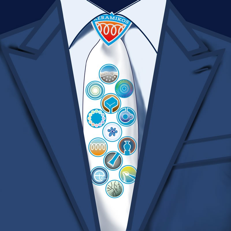 Pak met stropdas